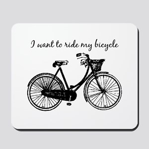 """""""Want To Ride My Bicycle"""" Motivational M"""