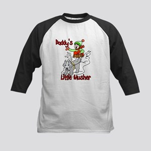 Daddy's Little Musher Kids Baseball Jersey