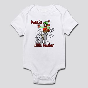 Daddy's Little Musher Infant Bodysuit