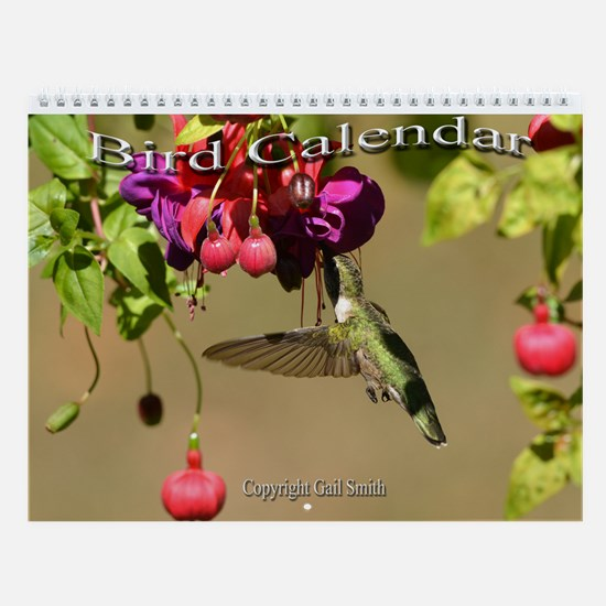 Blue Jay Cover.png Wall Calendar