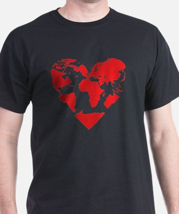 Unique Polyamory heart T-Shirt