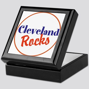 Cleveland Rocks Keepsake Box