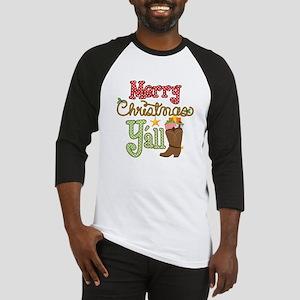Christmas Y'all Baseball Jersey