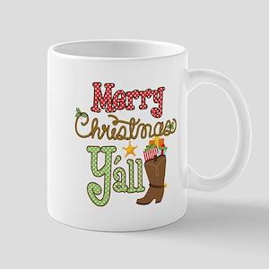Christmas Y'all Mug