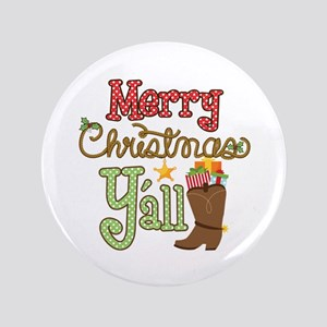 Christmas Y'all Button