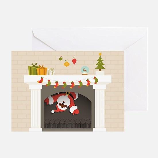 Funny Chimneys Greeting Card