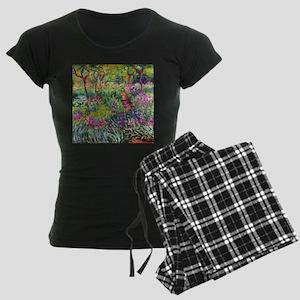 The Iris Garden by Claude Mo Women's Dark Pajamas