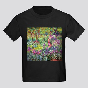 The Iris Garden by Claude Monet T-Shirt