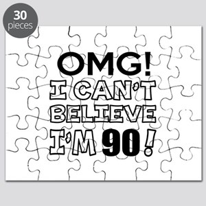 Omg I Can Not Believe I Am 90 Puzzle