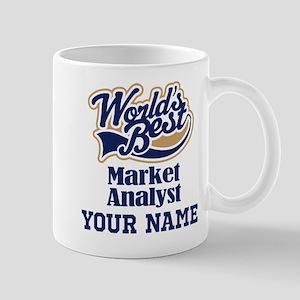 Market Analyst Personalized Gift Mugs