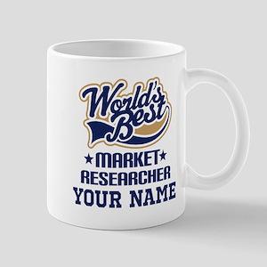 Market Researcher Personalized Gift Mugs
