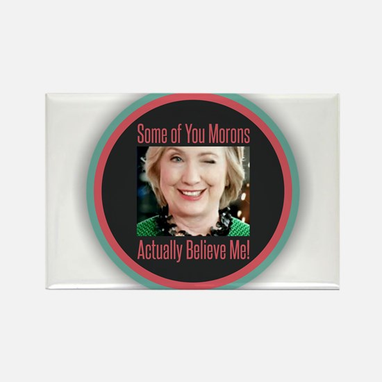 Hillary - Morons Magnets