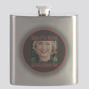 Hillary - Morons Flask