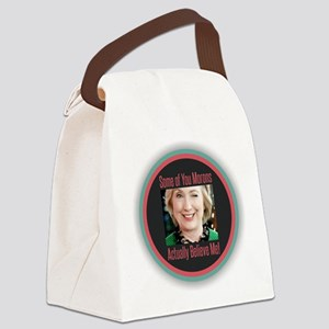 Hillary - Morons Canvas Lunch Bag