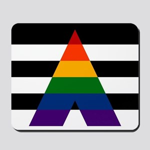 Solid LGBT Ally Pride Flag Mousepad