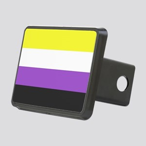 Solid Non-Binary Pride Fla Rectangular Hitch Cover
