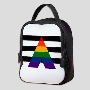 Solid LGBT Ally Pride Flag Neoprene Lunch Bag