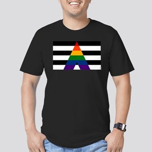 Solid LGBT Ally Pride Flag T-Shirt