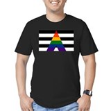 Lgbt ally Fitted Dark T-Shirts