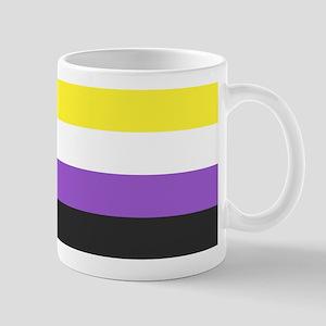 Solid Non-Binary Pride Flag Mugs
