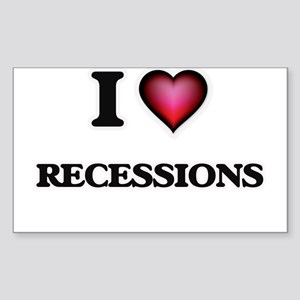 I Love Recessions Sticker