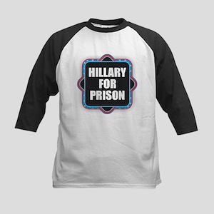 Hillary for Prison Baseball Jersey