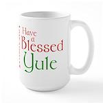 Blessed Yule Large Mug