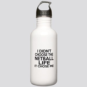 Netball It Chose Me Stainless Water Bottle 1.0L