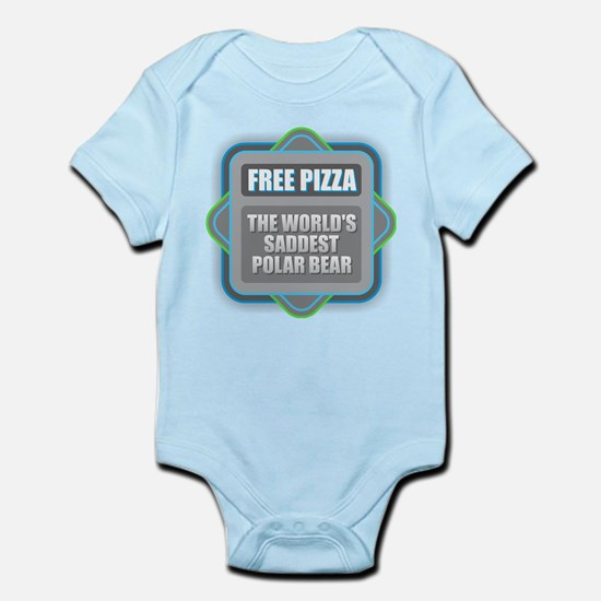 Pizza - Saddest Polar Bear Body Suit