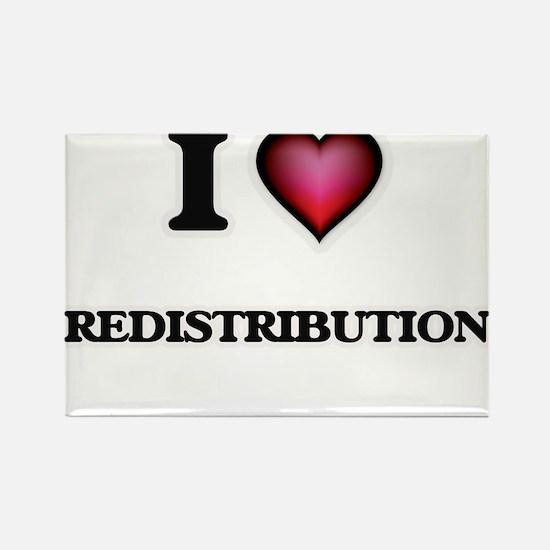 I Love Redistribution Magnets
