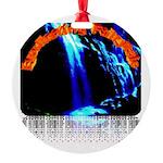 Everlasting Fairytale Logo Round Ornament