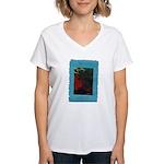 Everlasting Fairytale Logo Women's V-Neck T-Shirt