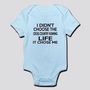 Cross Country Running It Chose Me Infant Bodysuit