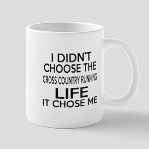 Cross Country Running It Chose Me Mug