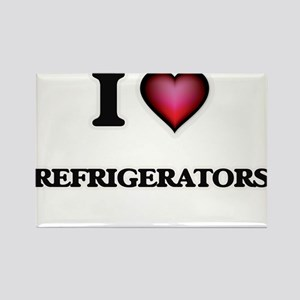 I Love Refrigerators Magnets