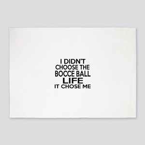 Bocce Ball It Chose Me 5'x7'Area Rug