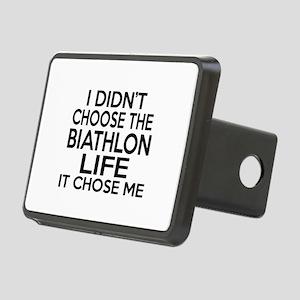 Biathlon It Chose Me Rectangular Hitch Cover