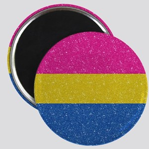 Glitter Pansexual Pride Flag Magnet