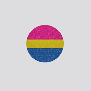 Glitter Pansexual Pride Flag Mini Button