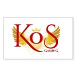 Kill on Sight Gaming Sticker (Rectangle 50 pk)