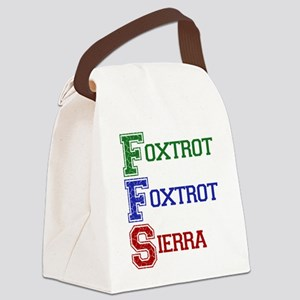 FOXTROT FOXTROT SIERRA Canvas Lunch Bag