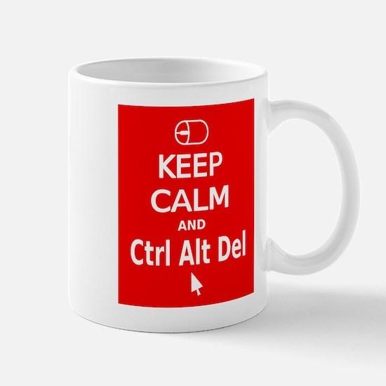 KC Ctrl Alt Del (red) Mug