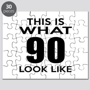 This Is What 90 Look Like Puzzle
