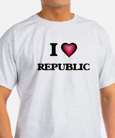 I Love Republic T-Shirt