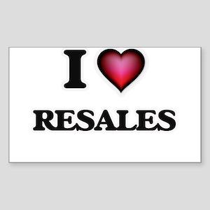 I Love Resales Sticker