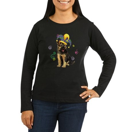 Party GSD Women's Long Sleeve Dark T-Shirt