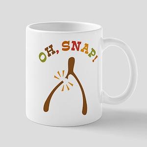 Oh, Snap Wishbone Mug