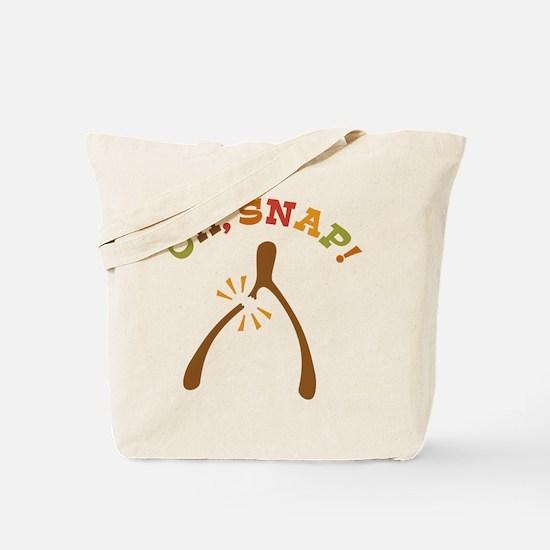 Oh, Snap Wishbone Tote Bag
