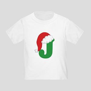 J santa hat T-Shirt