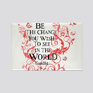 Be the Change - Red Vine - Light Magnets